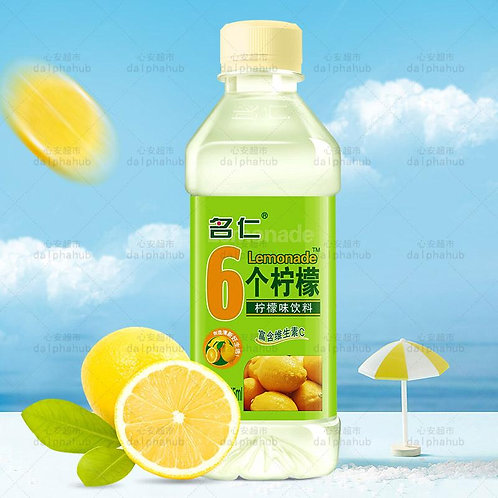 6 lemonade drink 375ml 名仁6个柠檬375ml
