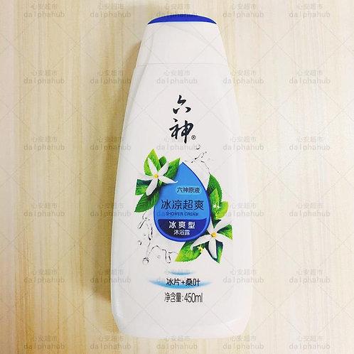 liushen shower gel 六神冰凉超爽沐浴露450ml