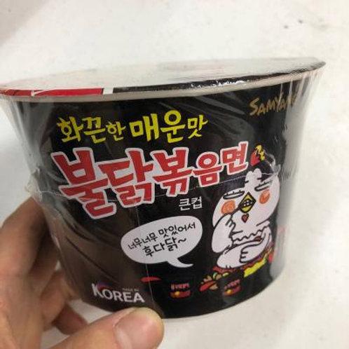 samyang spicy noodles  三养特辣火鸡面碗装