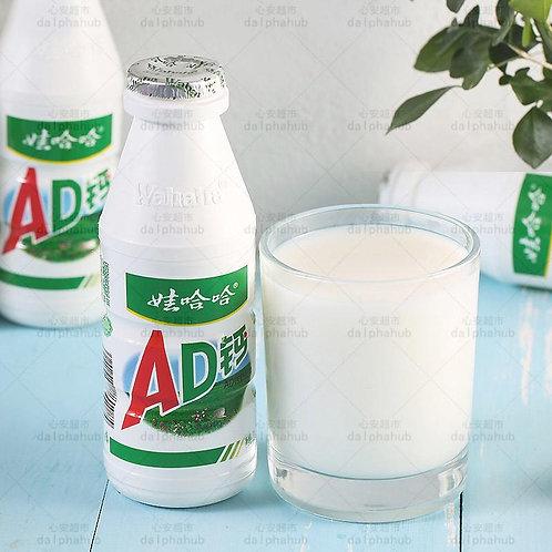 AD calcium milk (4pcs) 娃哈哈AD钙奶220g*4