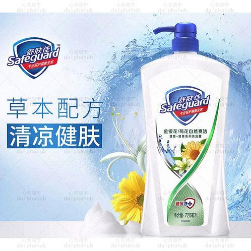 Safeguard Honeysuckle Shower Gel 舒肤佳金银花自然爽洁沐浴露720ml