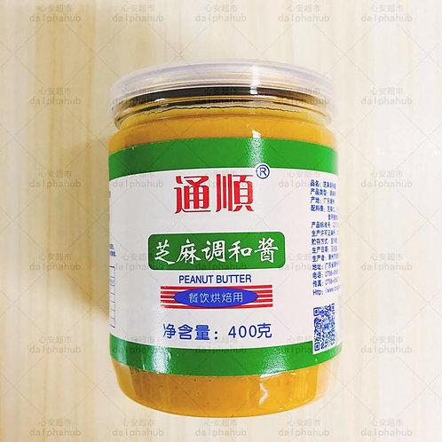 tongshun sesame paste 通顺芝麻调和酱400g