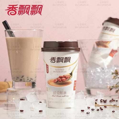 Pearl red bean milk tea 香飘飘高杯好料珍珠红豆奶茶