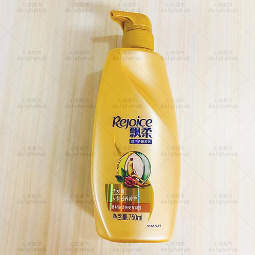 Rejoice shampoo 飘柔人参滋养洗发露750ml
