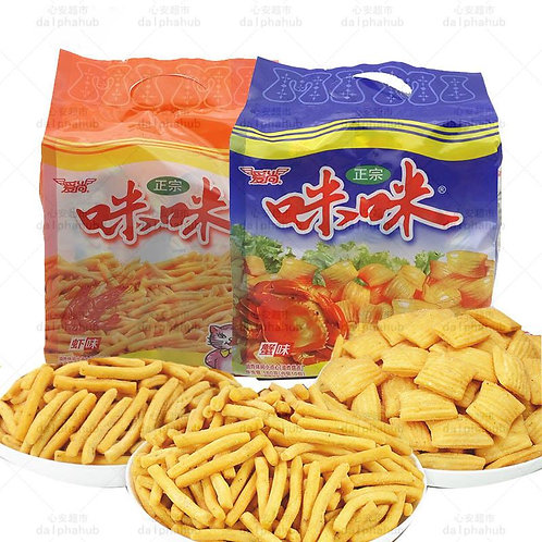 Crab and Shrimp Snacks 爱尚咪咪红烧牛肉味/虾味/蟹味180g