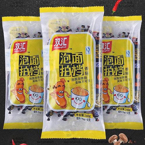 Shuanghui instant noodle sausage and ham 240g 双汇泡面拍档香肠火腿肠240g