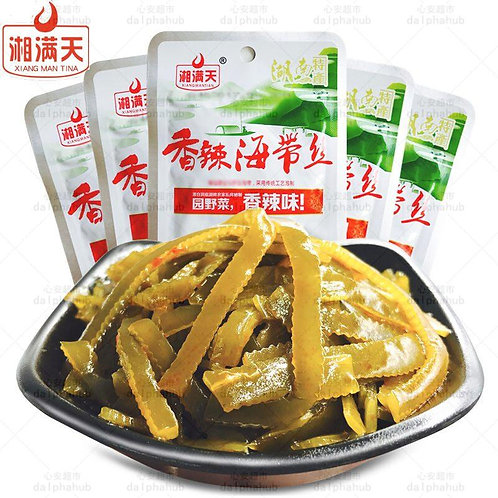 Spicy kelp 湘满天香辣海带丝33g