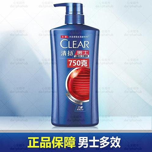 CLEAR Men's Dandruff Shampoo 清扬男士多效水润养护去屑洗发露750ml