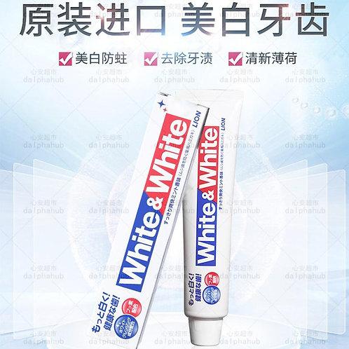 Shiwang toothpaste 日本狮王美白除菌去渍牙膏150g