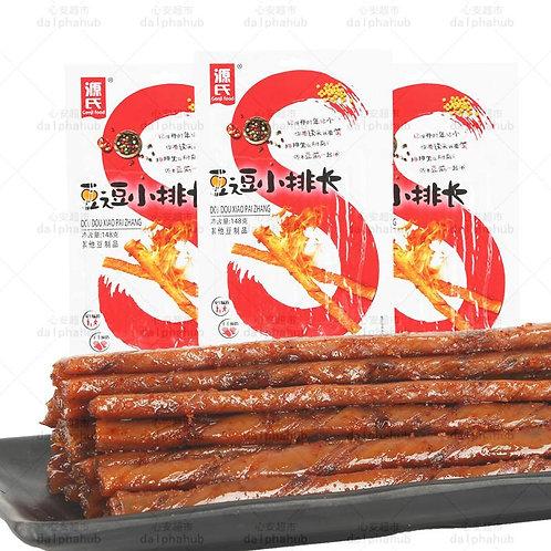 Yuanshi Tofu Jerky 源氏豆逗小排长148g