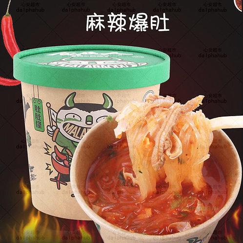 Energy Spicy fried tripe noodles 食族人麻辣爆肚粉桶装150g