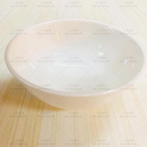 Large White Ceramic Bowl  白色陶瓷碗大号