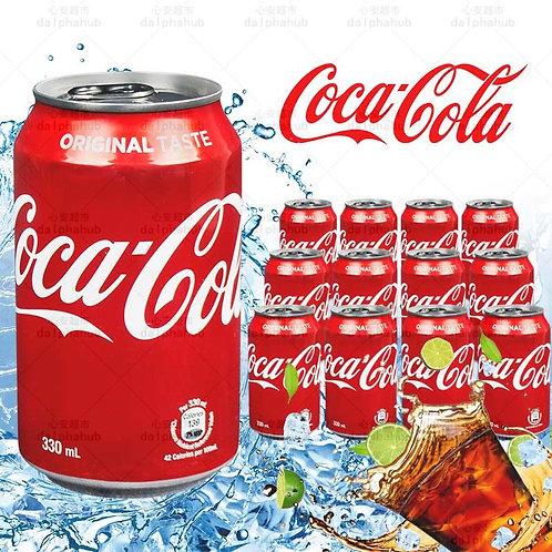Coca Cola 可口可乐矮罐330ml