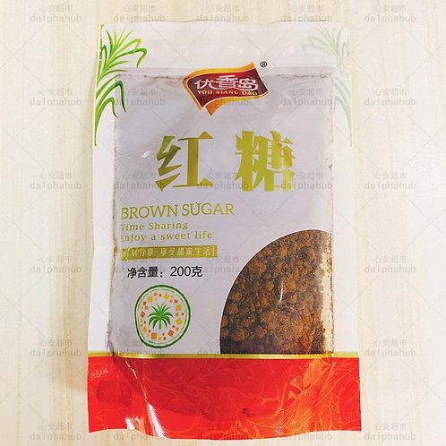 brown sugar 优香岛红糖200g