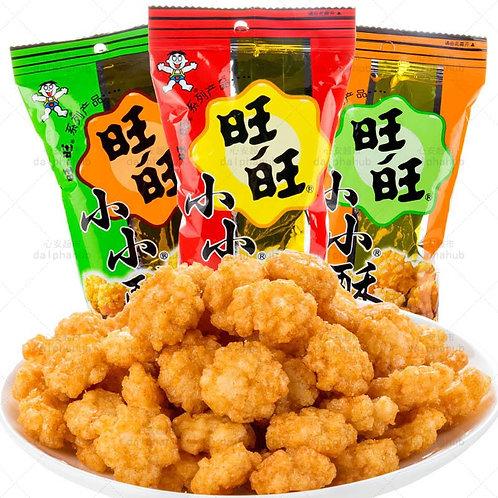 Wangwang small crisp (black pepper/onion chicken flavor) 60g 旺旺小小酥黑胡椒/葱香鸡肉味