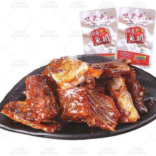 Spice Wild Fish Chops 味芝元洞庭野生鱼排香辣味28g