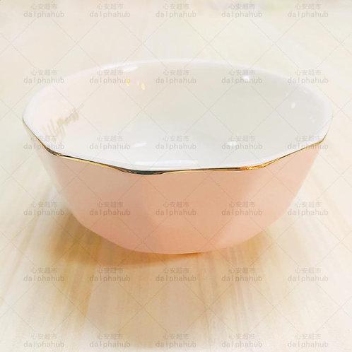 Diamond pink magnetic bowl 菱形粉色磁碗