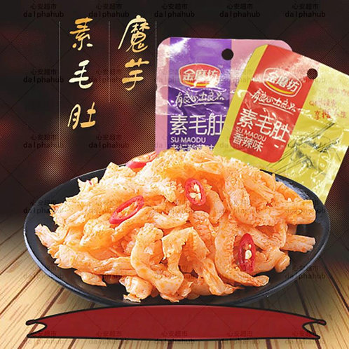 Vegetarian tripe 金磨坊香辣味素毛肚22g