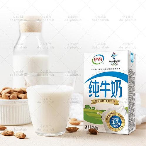 Yili Pure Milk 250ml 伊利纯牛奶250ml