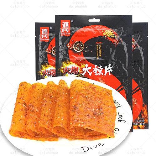 Spicy slice 源氏大辣片火爆108g/老式148g