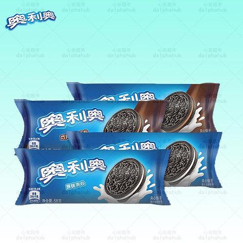 Oreo cookie sandwich 奥利奥原味夹心/巧克力58g