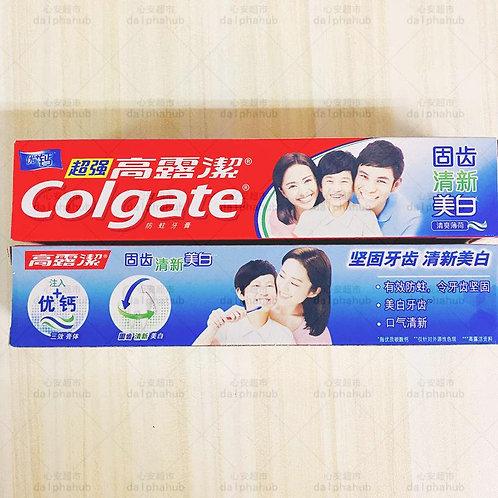 colgate toothpaste 高露洁清新美白牙膏90g