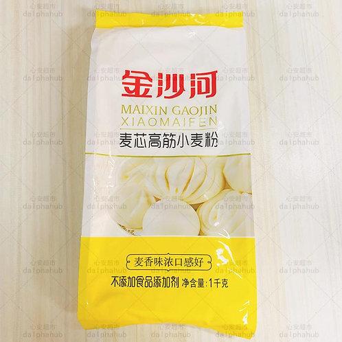 Jinshahe high-gluten wheat flour 1KG 金沙河高筋小麦粉1KG