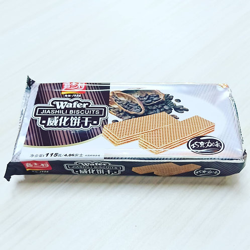 Jiashili Wafer Biscuits (Chocolate Flavor) 115gms. 60php