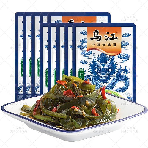 Cold mixed shredded kelp 70g 乌江鲜香味凉拌海带丝70g