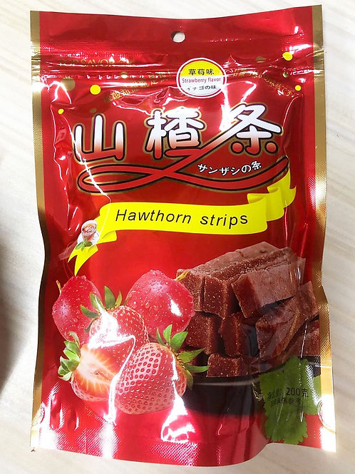 Hawflakes strips (strawberry flavor) 90php