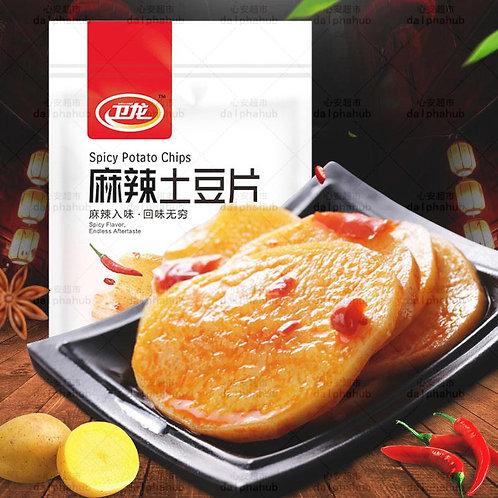 Spicy potato slice卫龙土豆片麻辣味200g