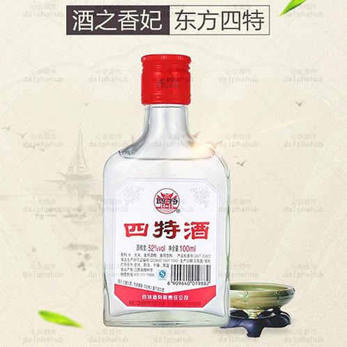 chinese wine 小四特酒52度白酒100ml