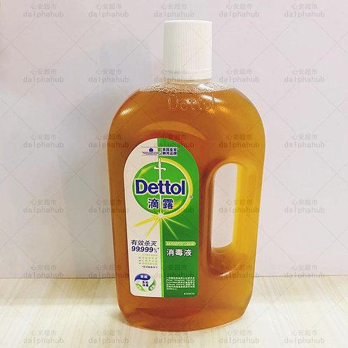 Dettol antiseptic liquid 滴露消毒液750ml