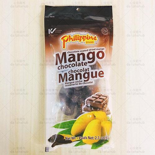 Dried Mango Chocolate 巧克力芒果干65g