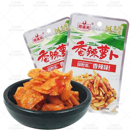 Spicy radish 湘满天香辣萝卜36g