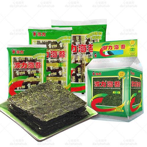 Seaweed 波力海苔原味/辣味24g