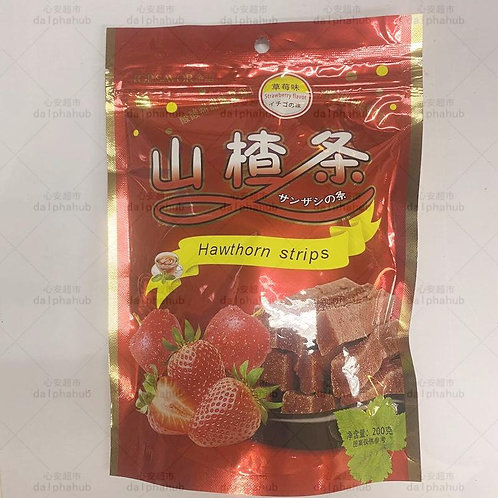 Jinyu Hawthorn strips 金语山楂条200g