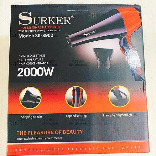 Surker Professional Hair dryer 电吹风机2000w