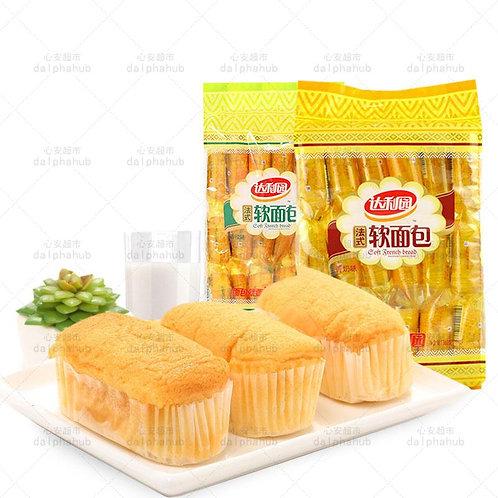 Daliyuan French soft bread milk / orange flavor 360g 达利园法式软面包香奶/香橙味