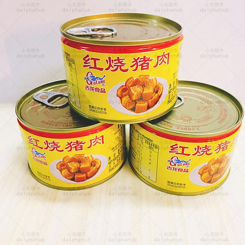 gulong canned pork meat 古龙红烧猪肉227g