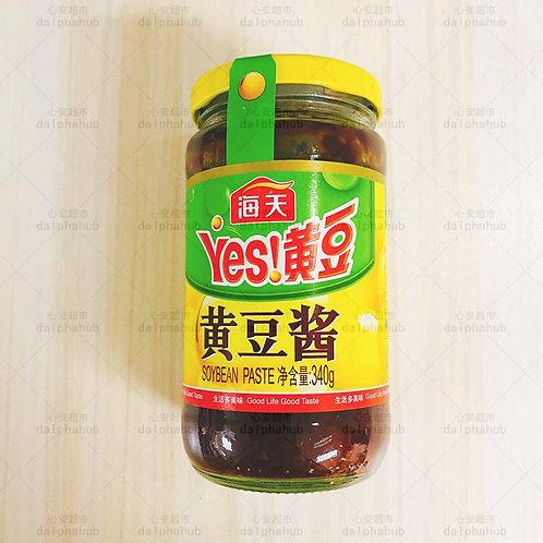 haday soybean paste 海天黄豆酱340g
