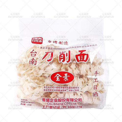 Taixijia plain noodles 300g 台熙家全素刀削面300g