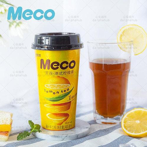 Meco Fragrant honey grain Hong kong style lemon tea 400ml 香飘飘蜜谷港式柠檬茶