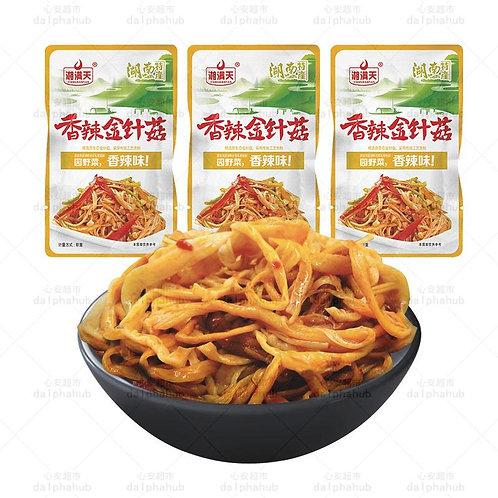 Spicy needle mushroom 湘满天香辣金针菇22g