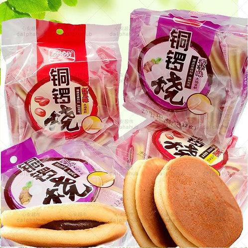 Red beans / taro baked cake 240g 盼盼红豆/香芋铜锣烧240g