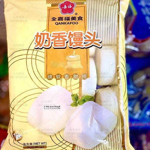 Quanjiafu Milk Steamed Buns 200g 全嘉福奶香馒头200g