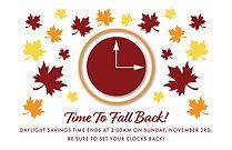 Fall Back 1 Postcard