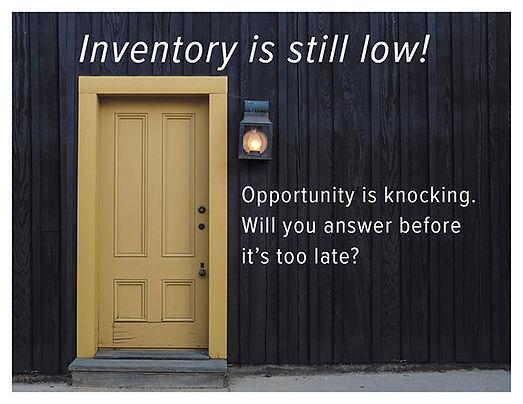 Low Inventory 2 Postcard