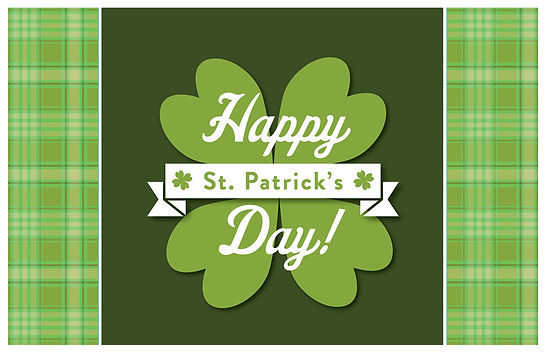 St Patrick's Day 2 Postcard