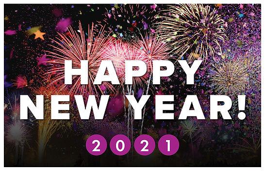 New Years 2 Postcard